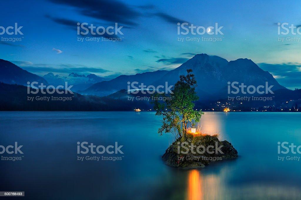 Island royalty-free stock photo
