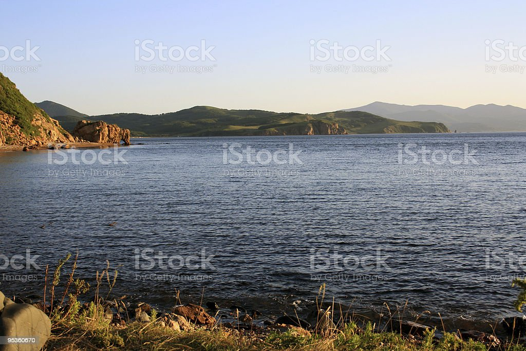 Island 'Putjatin'. Russia stock photo