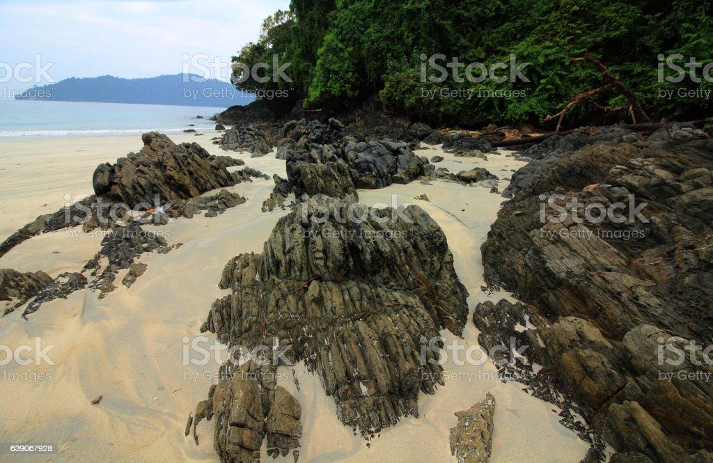 island seaside stock photo
