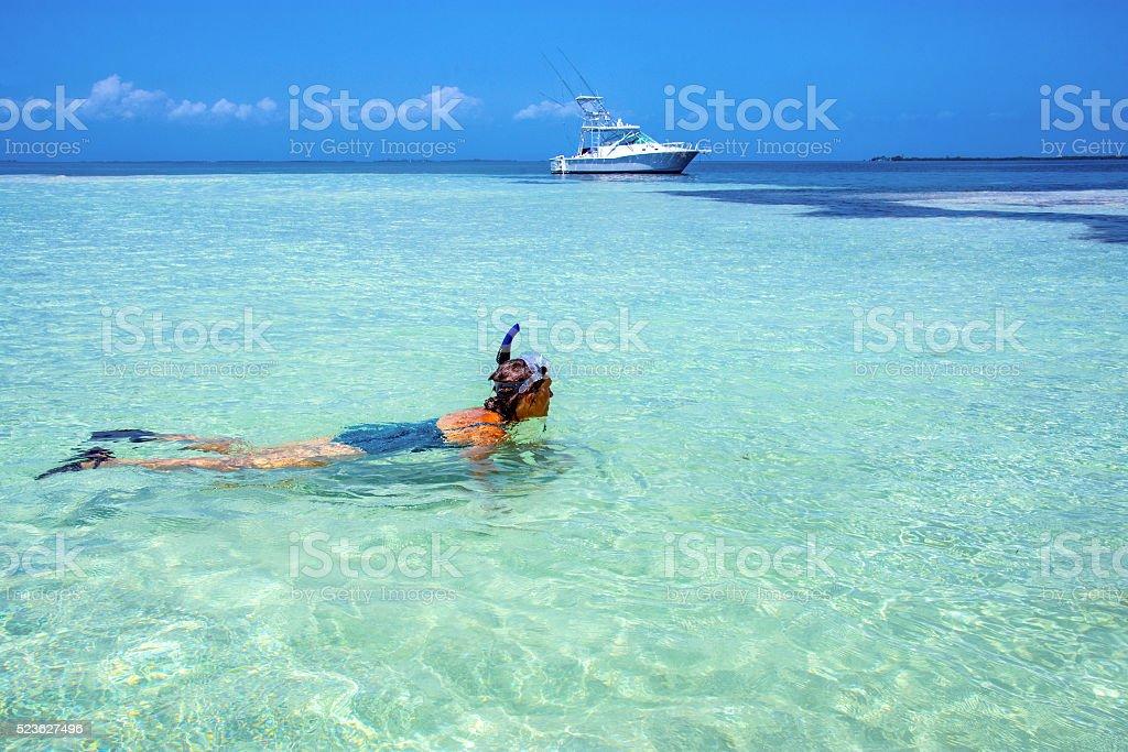 Island stop stock photo