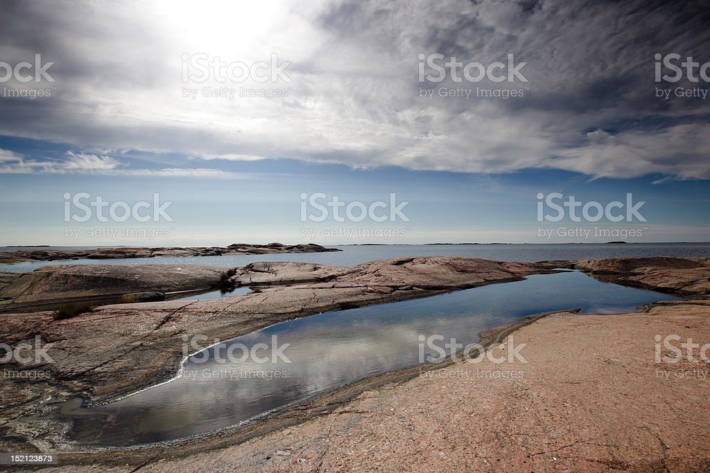 Island view royalty-free stock photo