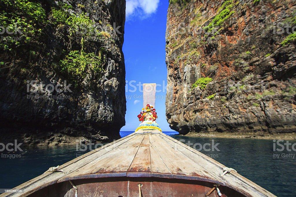 Island views royalty-free stock photo