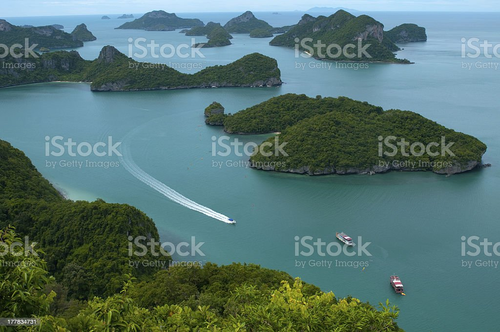 islands and sea – Thailand stock photo