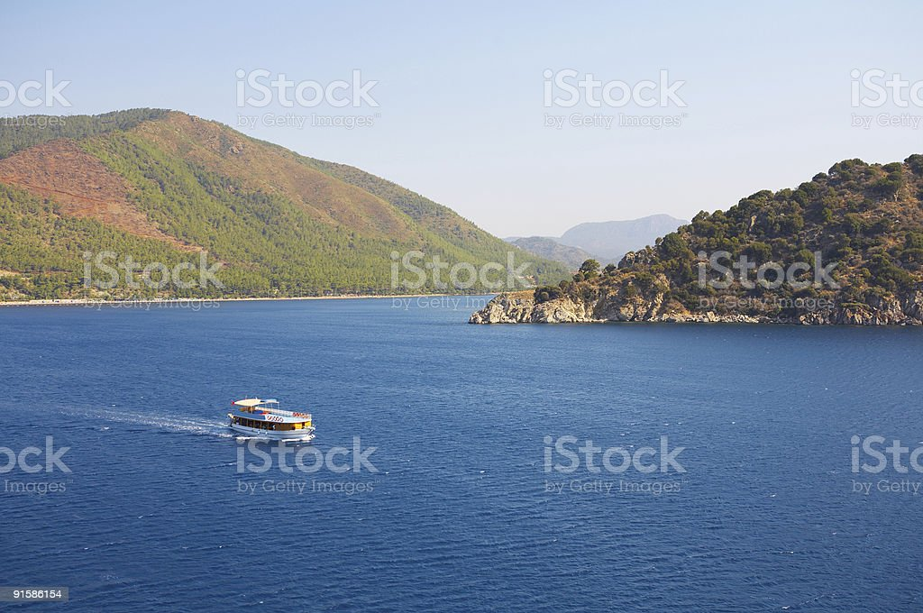 Islands in Aegean Sea royalty-free stock photo
