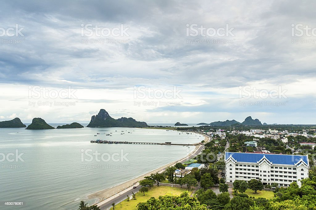 Islands In The Gulf Of Thailand stock photo