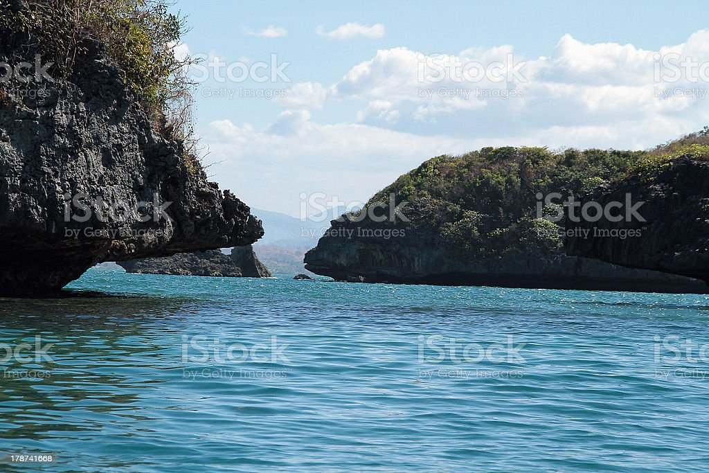 Isole nelle Filippine foto stock royalty-free