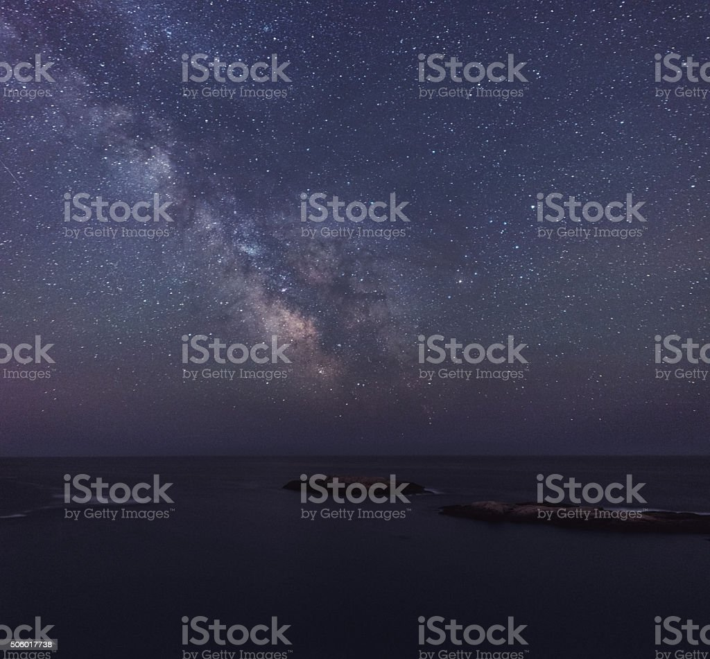 Islands in the Stars stock photo