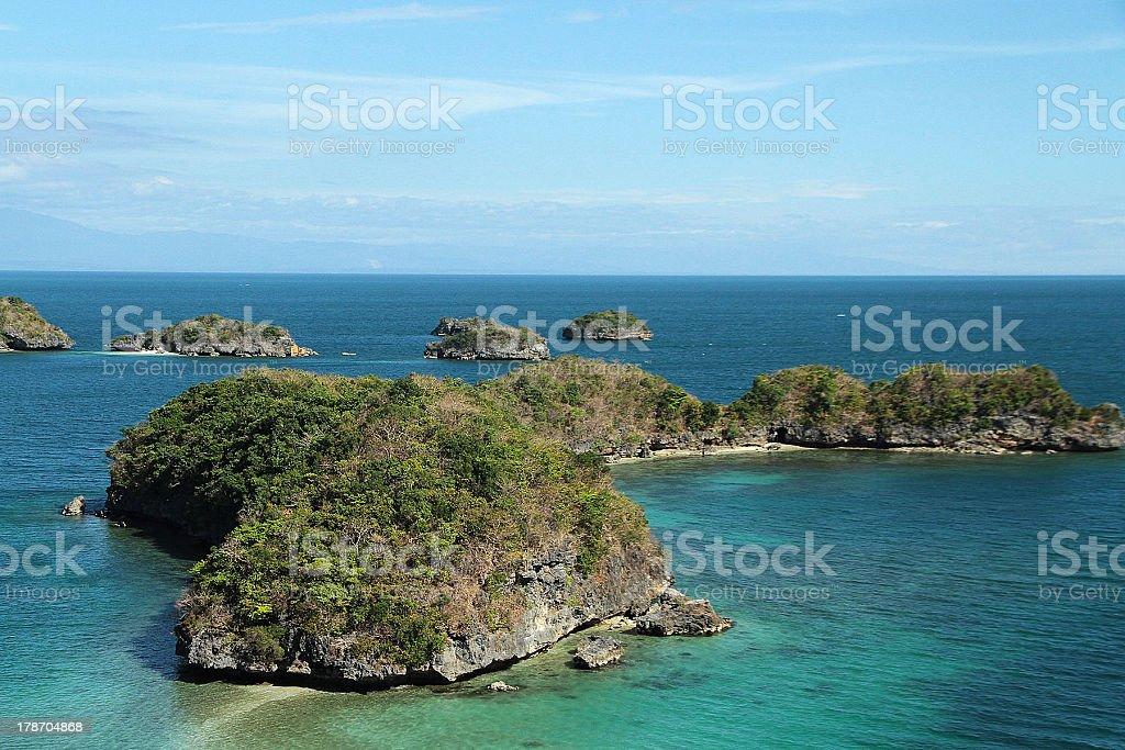 Isole, Filippine foto stock royalty-free