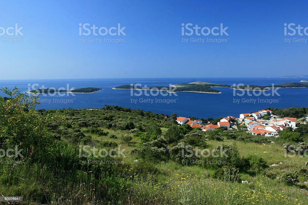 Islands royalty-free stock photo