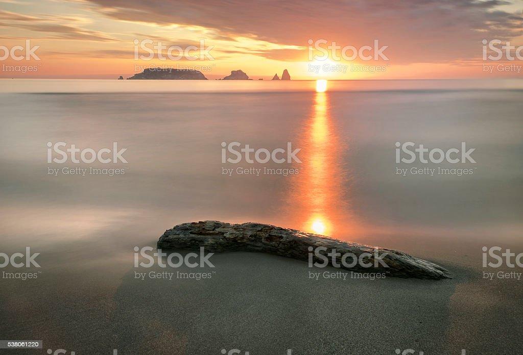 Islas Medes stock photo