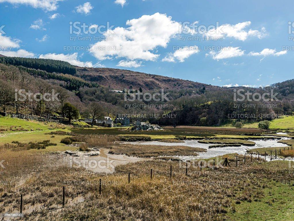 Islawr-dref Landscape stock photo