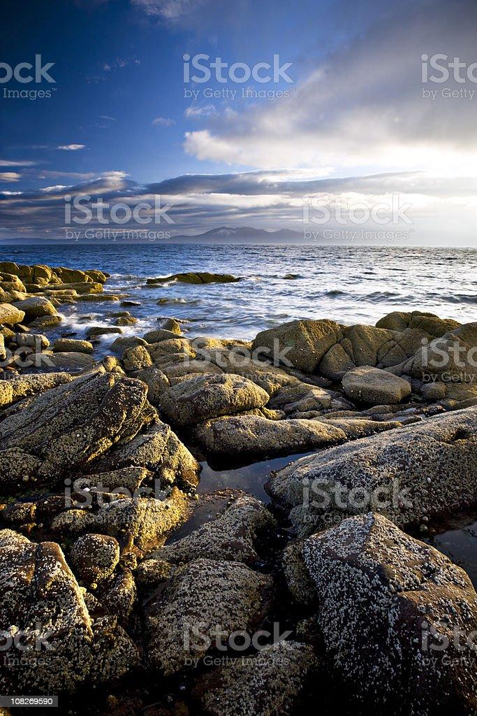 Isle of Arran stock photo