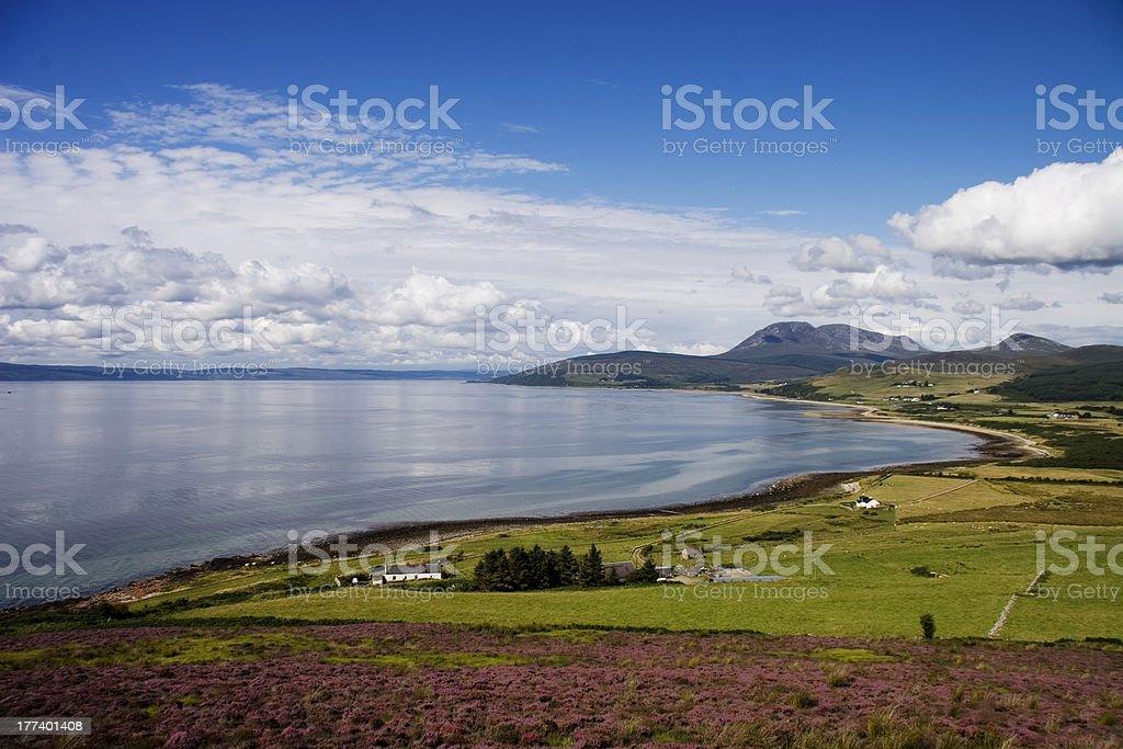 Isle of Arran (Ayrshire - Scotland) royalty-free stock photo