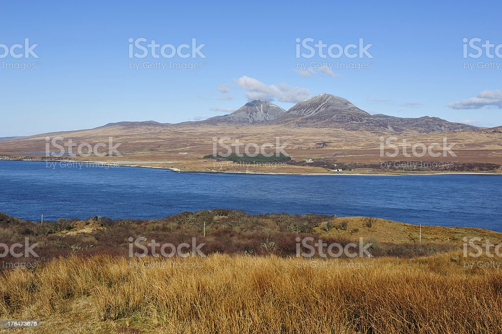 Isle Of Jura stock photo