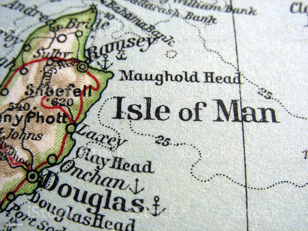 Isle of Man stock photo