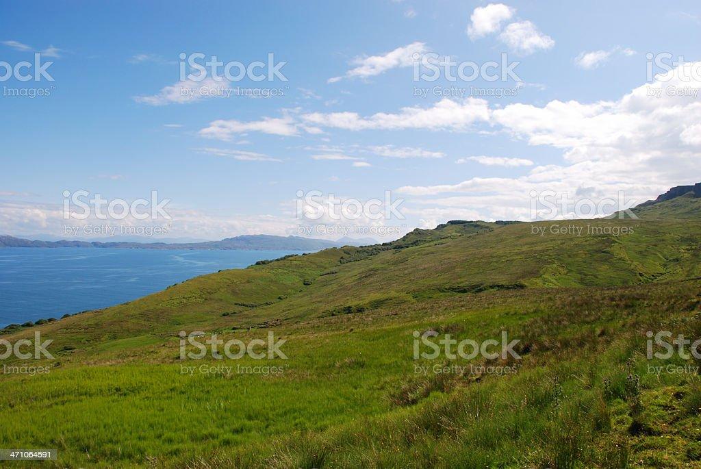 Isle of sky, Scotland UK royalty-free stock photo