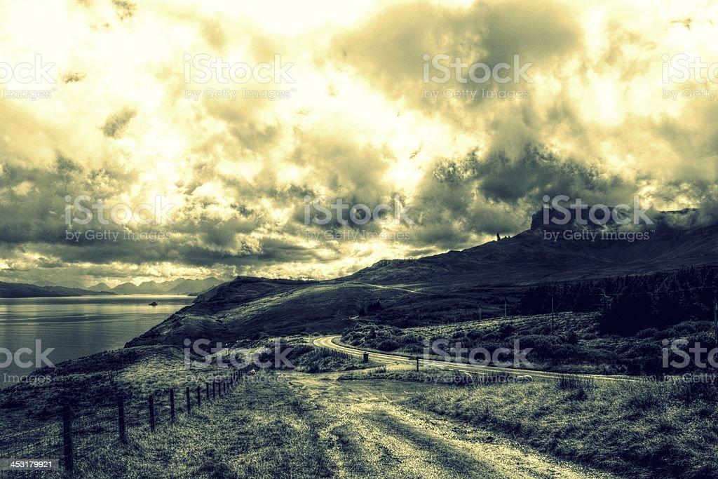Isle of Skye Landscape royalty-free stock photo