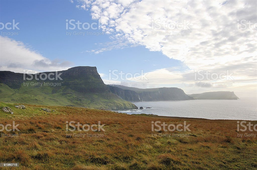 Isle Of Skye Niest Point View royalty-free stock photo