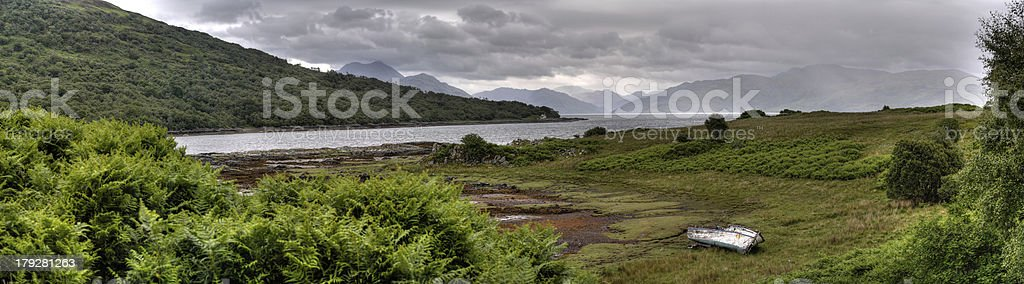HDR - Isle of Skye royalty-free stock photo