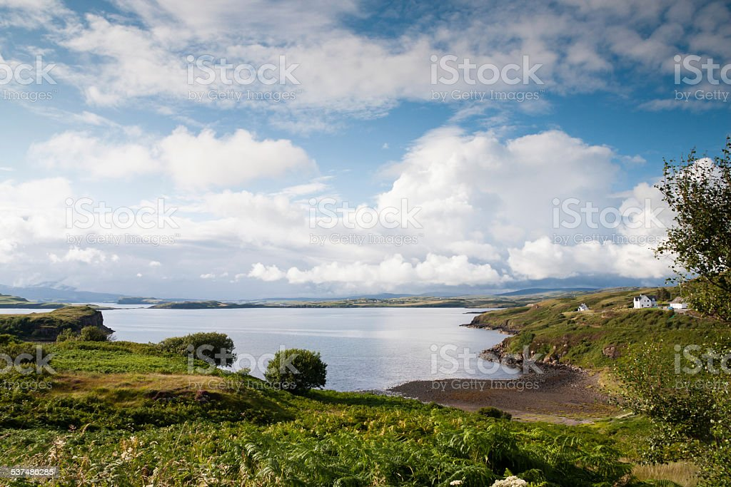 Isle of Skye stock photo