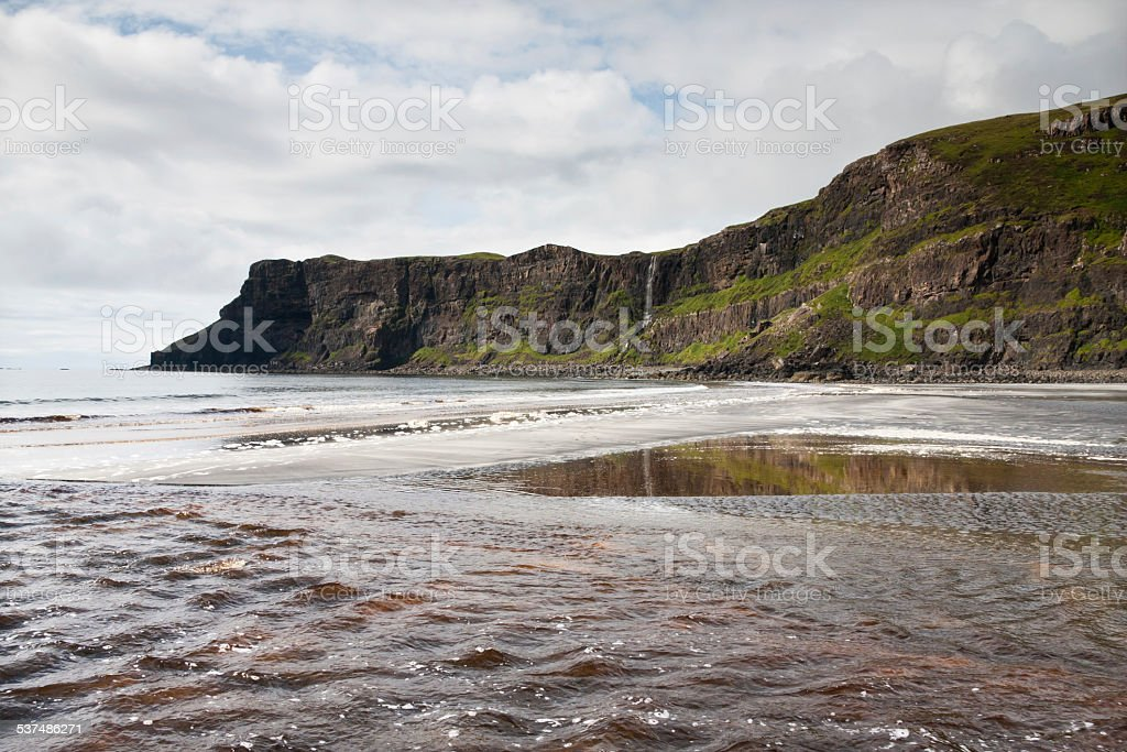 Isle of Skye, Talisker Bay stock photo