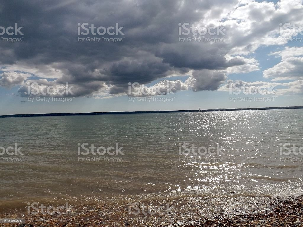 isle of wight stock photo