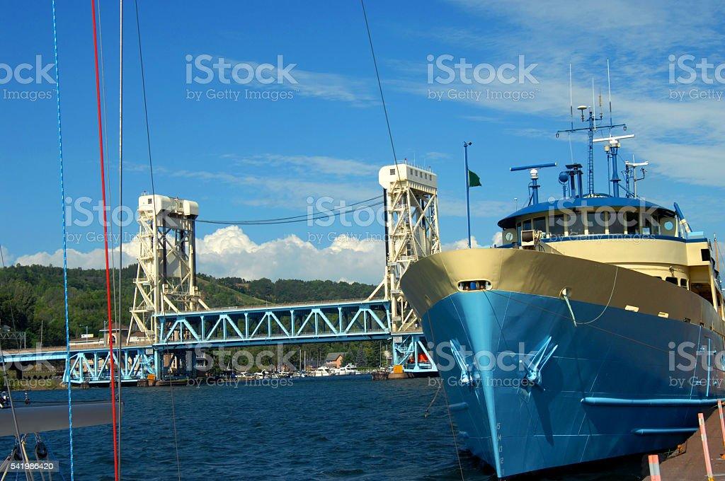 Isle Royale Transportation stock photo