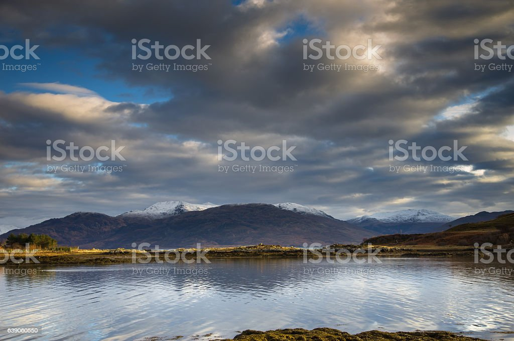 Isleornsay Harbour, Isle of Skye stock photo