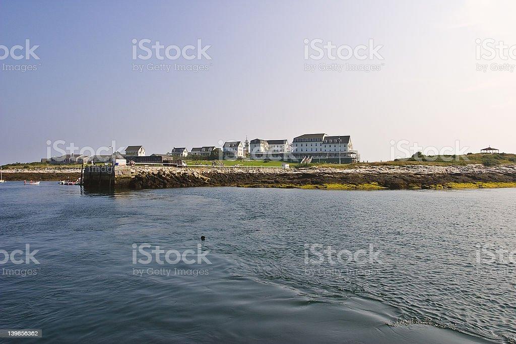 Isles of Shoals stock photo