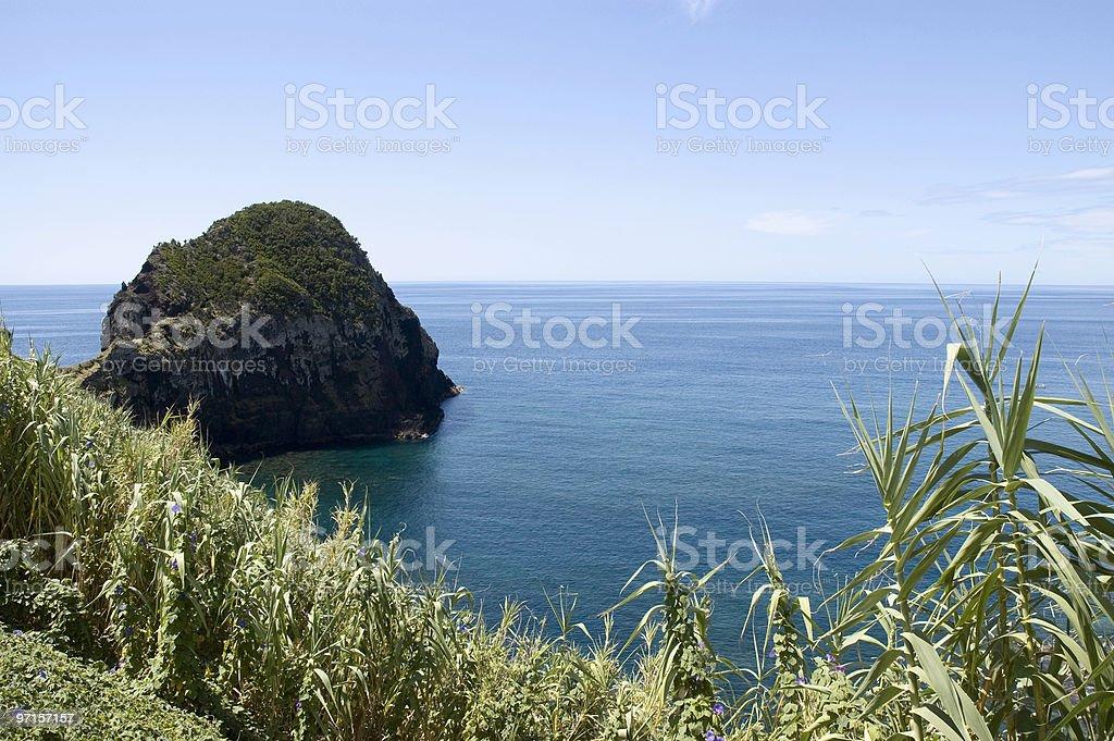 Islet, Pico island, Azores royalty-free stock photo