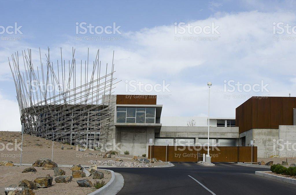 Isleta Pueblo Tribal Offices royalty-free stock photo