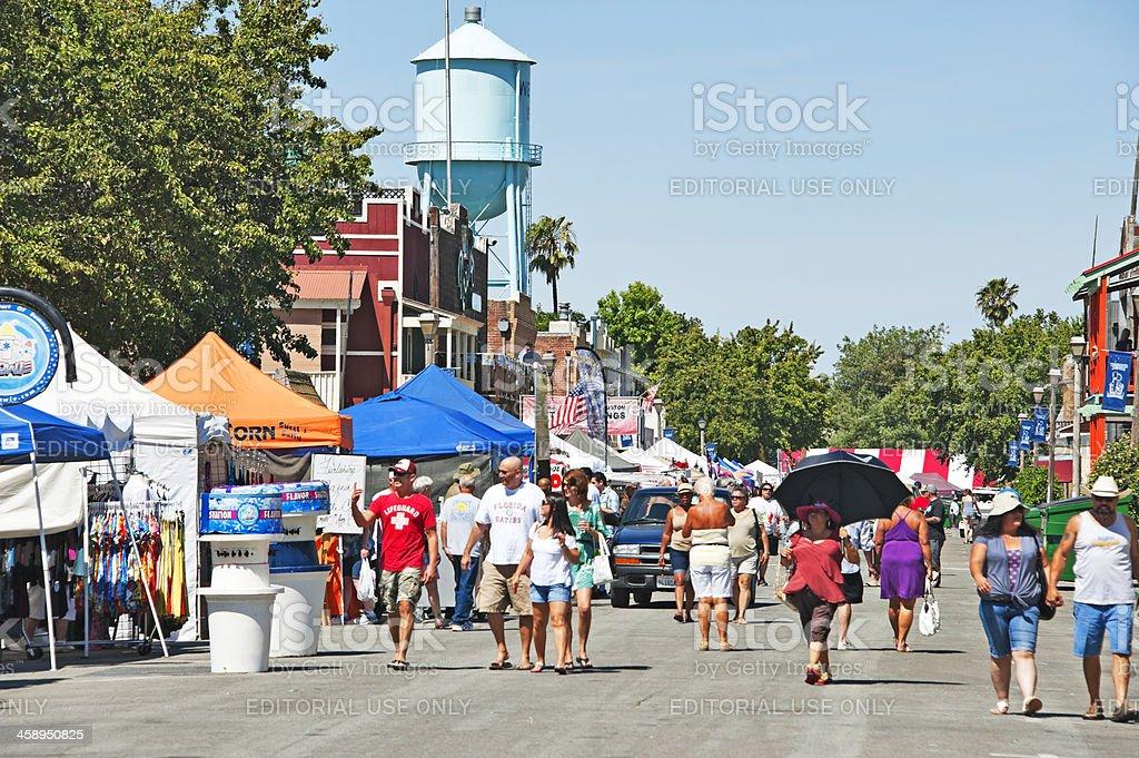 Isleton Cajun Festival royalty-free stock photo