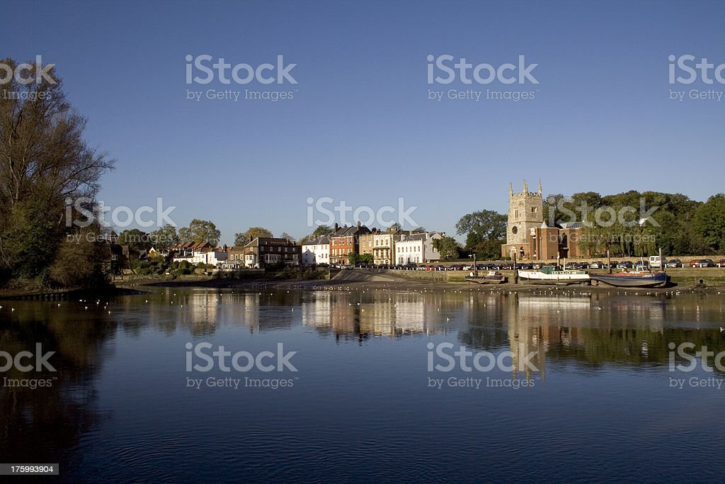 Isleworth on the Thames #1 stock photo