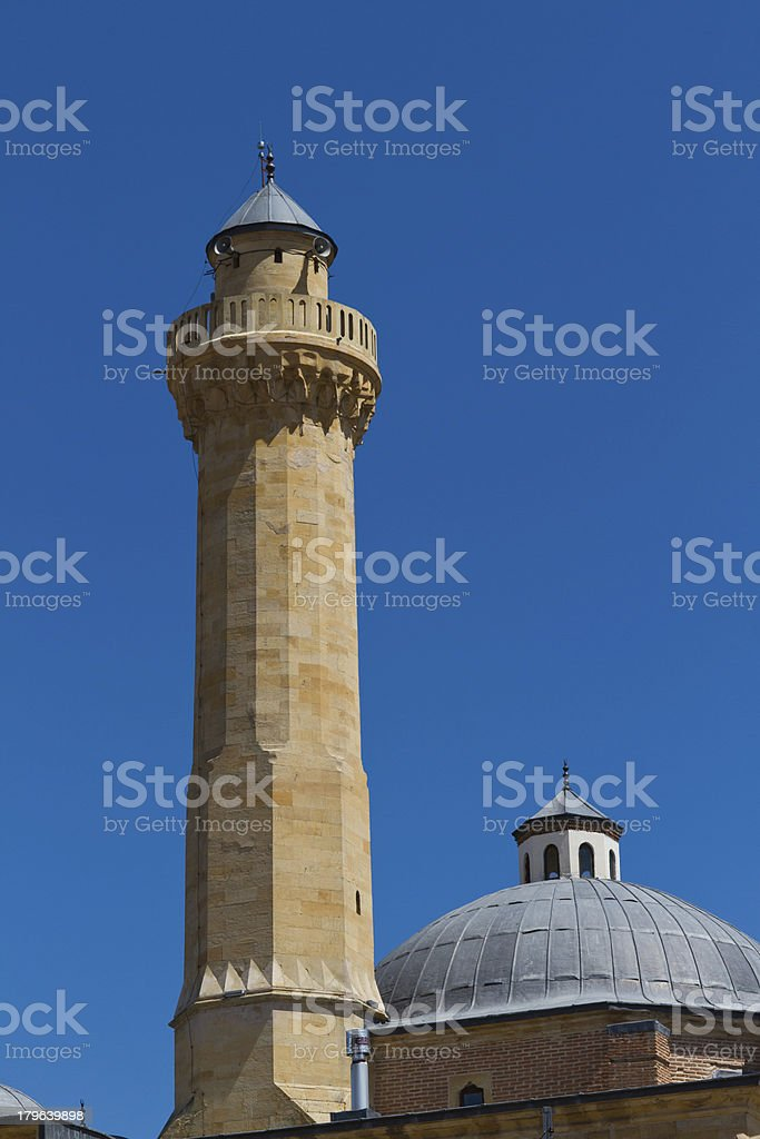 Ismail Bey Mosque stock photo