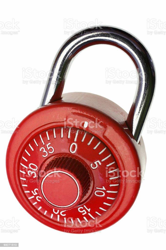 Iso Lock royalty-free stock photo