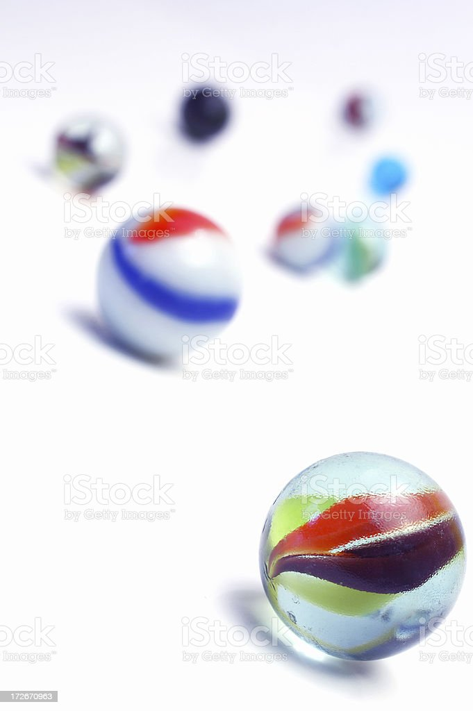 Iso Marbles royalty-free stock photo