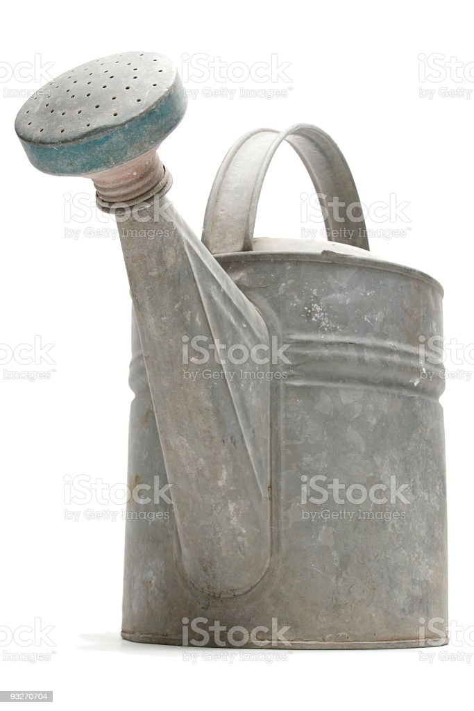Iso Watering Can #2 royalty-free stock photo