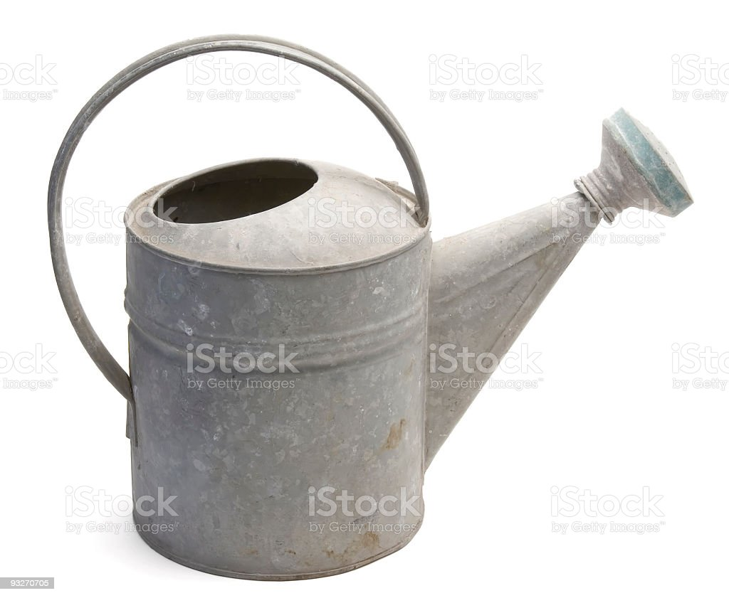 Iso Watering Can stock photo