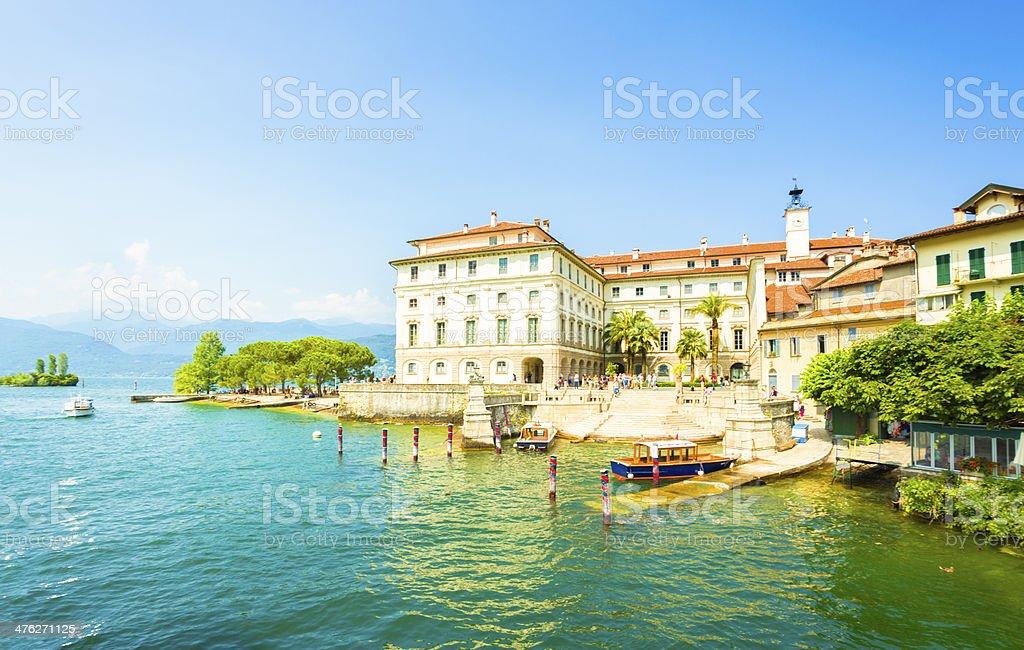 Isola Bella on Lago Maggiore stock photo