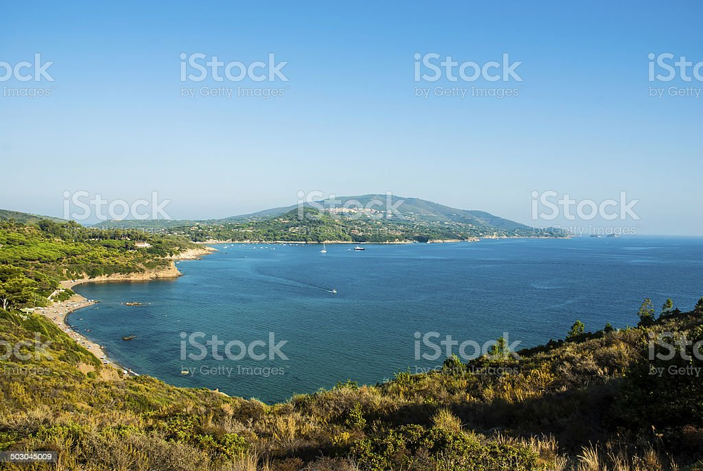 Isola d'Elba - Tuscany - Italy stock photo