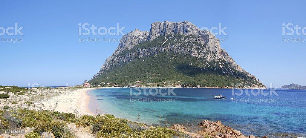Isola Di Tavolara royalty-free stock photo