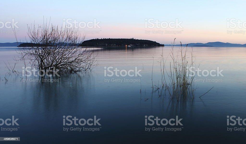 Isola Maggiore royalty-free stock photo