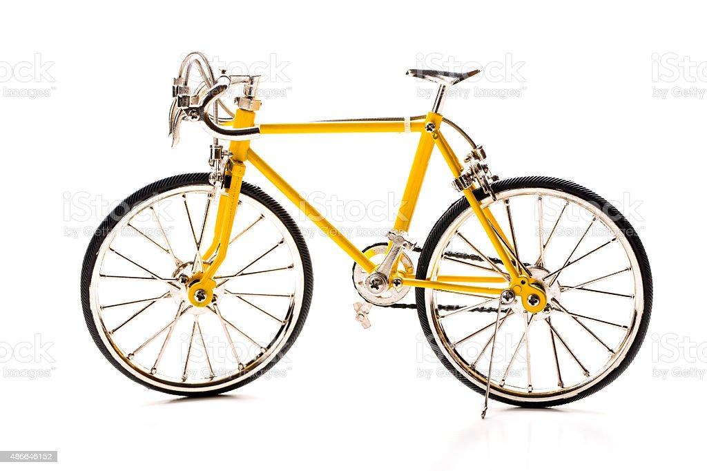 Isolate bicycle. stock photo