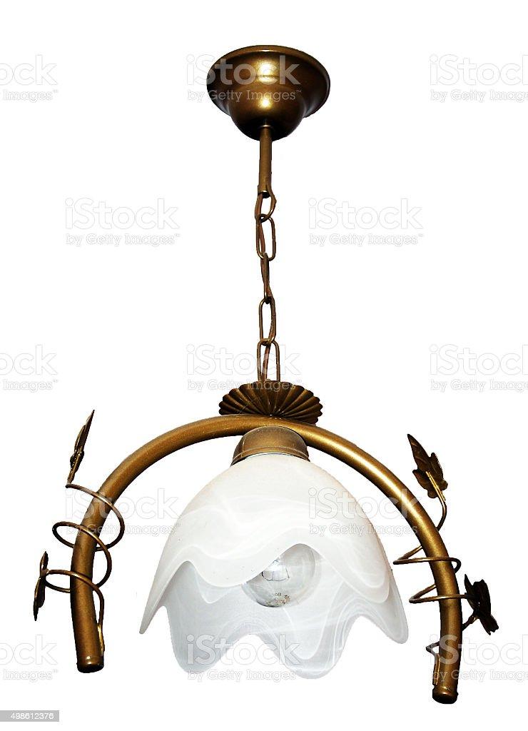Isolate. Lamp stock photo