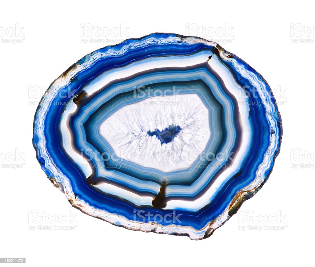 isolated agate stock photo