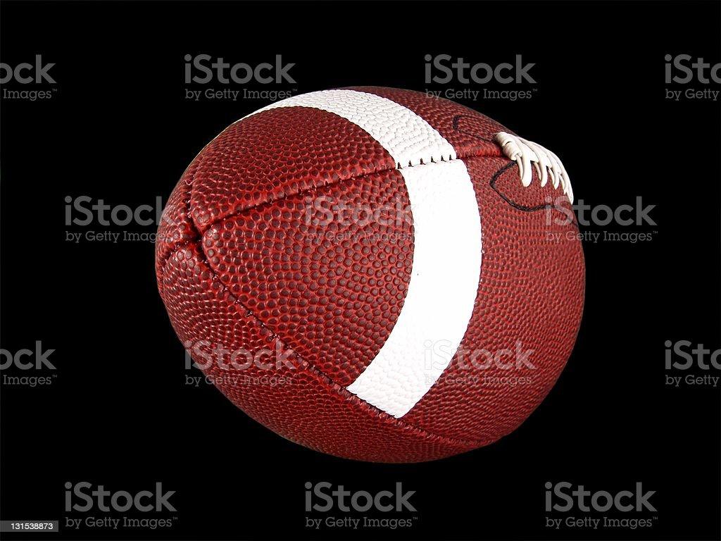 Isolated American Football stock photo