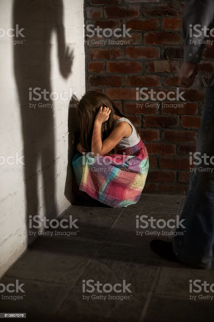 Isolated and defenceless stock photo