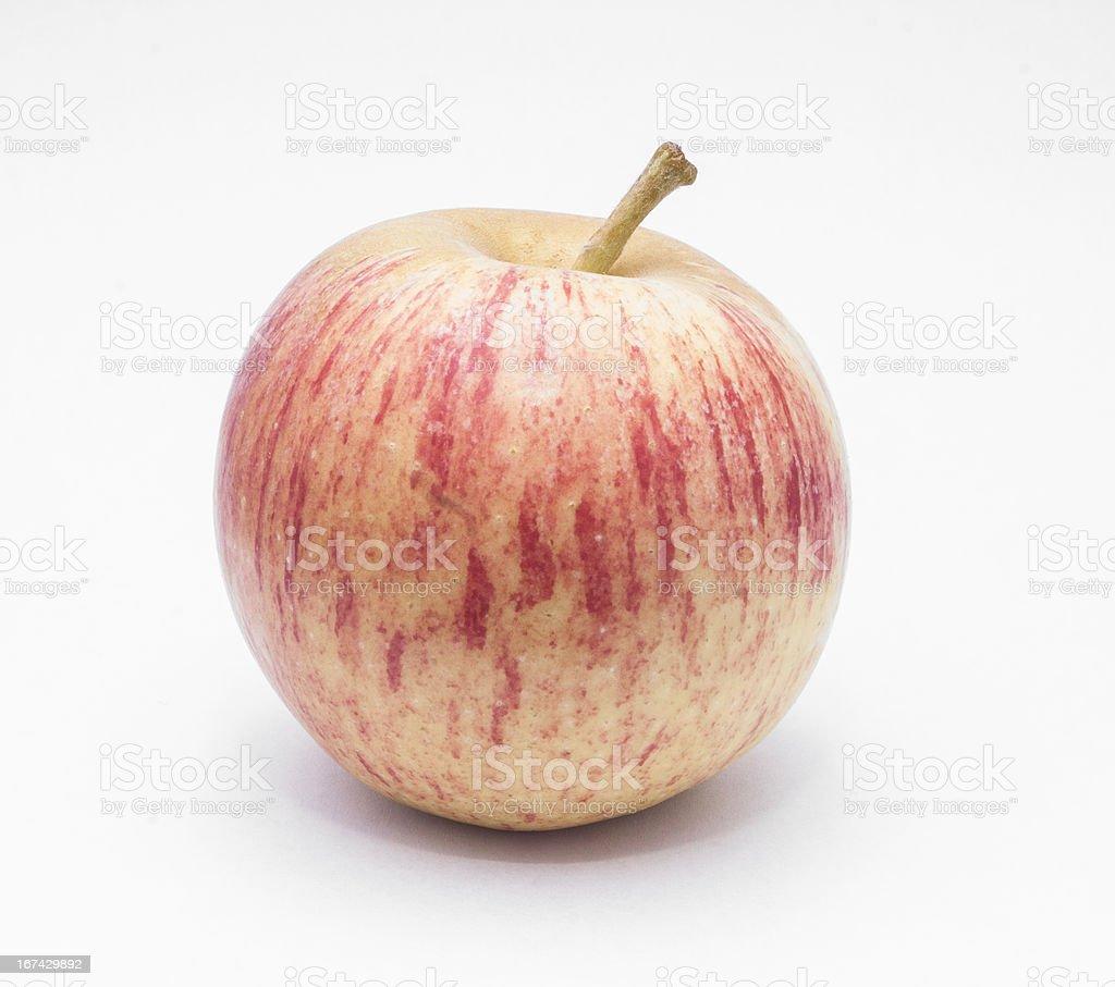 Isolated Apple royalty-free stock photo