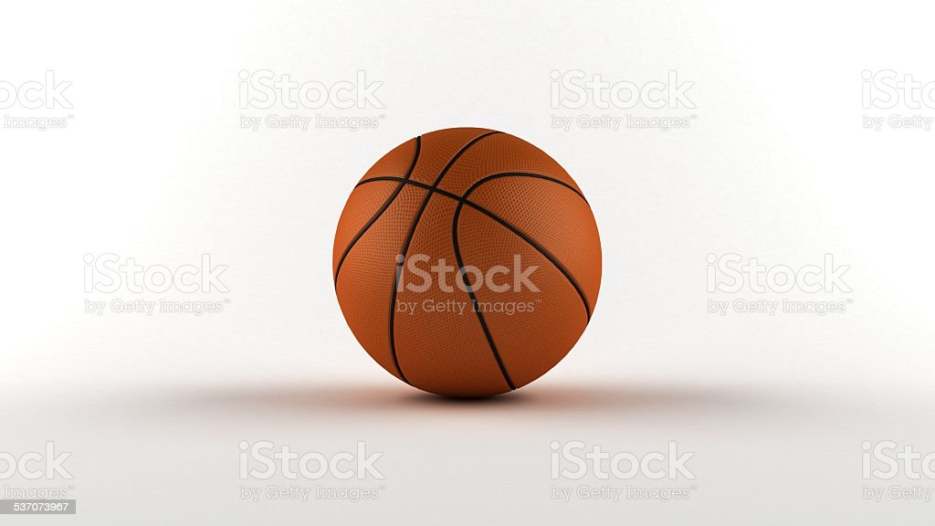 Isolated ball with background stock photo