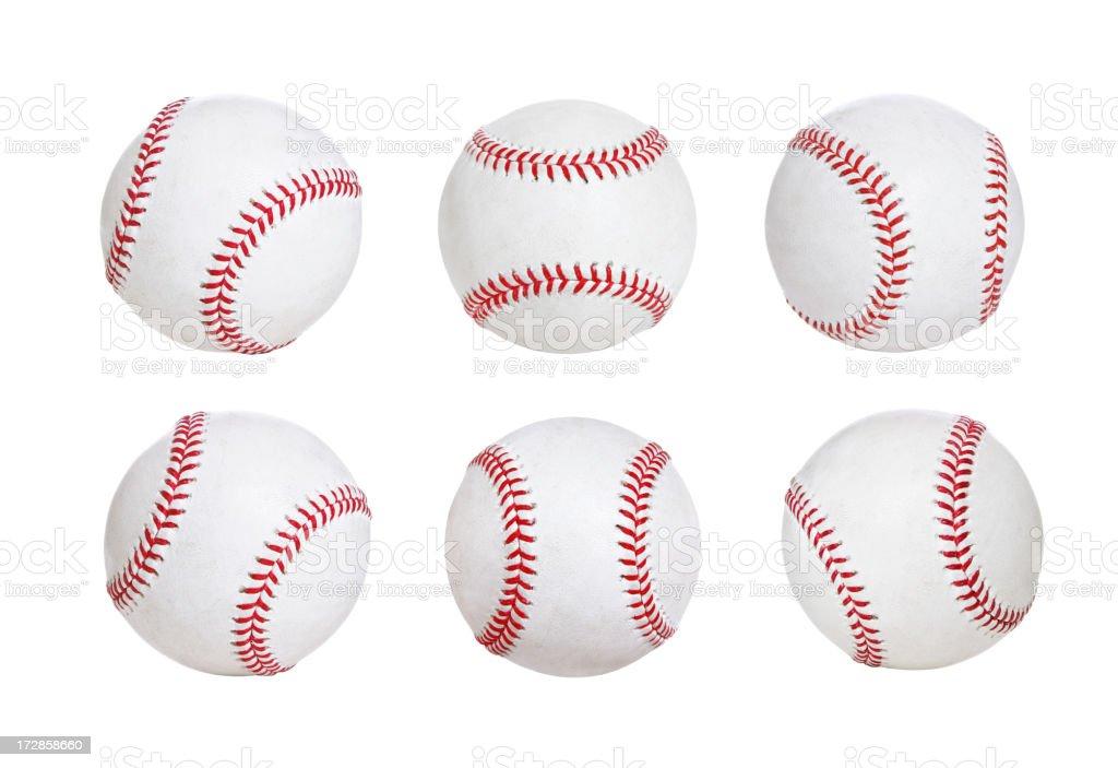 Isolated Baseballs (XXL) stock photo